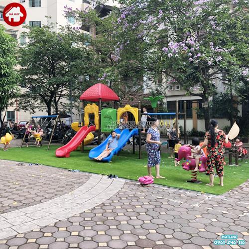 Sân chơi trẻ em ngoài trời khu chung cư KVC-014