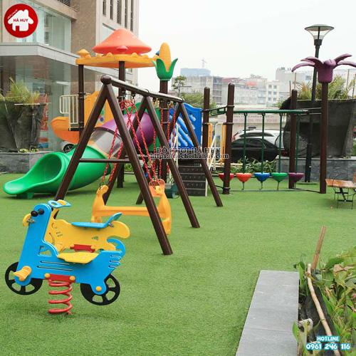 Sân chơi trẻ em ngoài trời khu chung cư, đô thị KVC-002