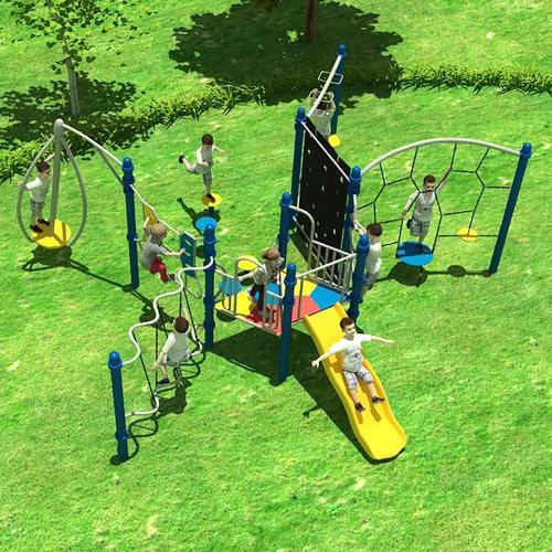 Bộ đồ chơi vận động ngoài trời trẻ em KVC-036