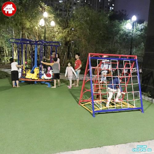 Khu vận động thể chất ngoài trời trẻ em KVC-022