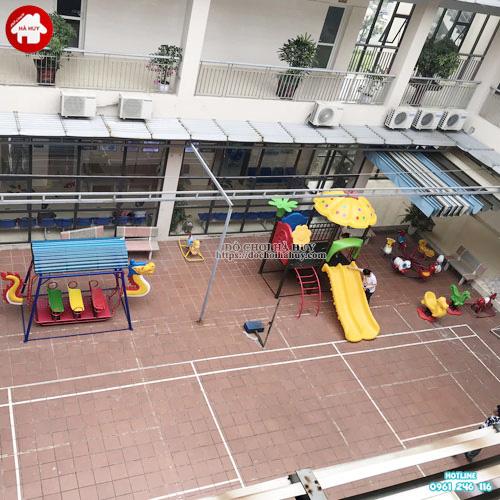Mẫu sân chơi trẻ em ngoài trời KVC-025