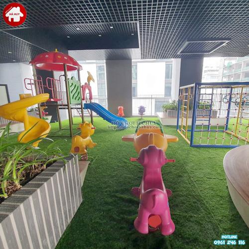 Sân chơi vận động trẻ em tại chung cư KVC-033