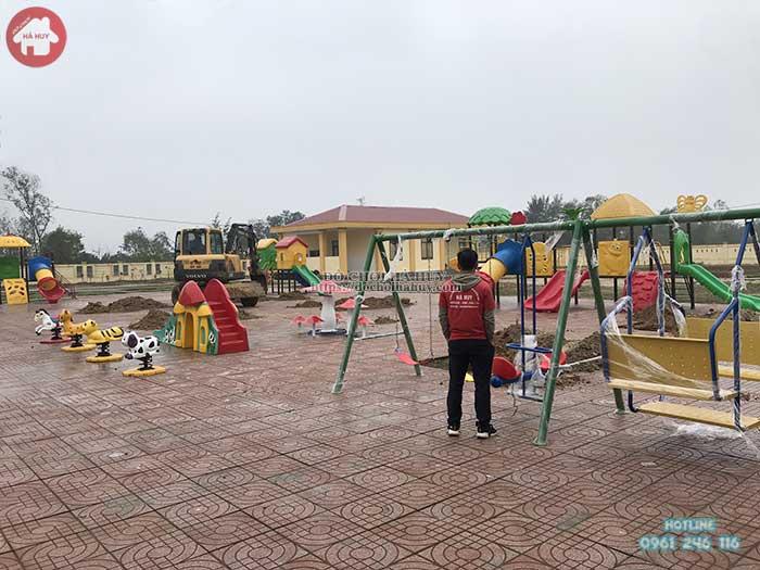Tìm đơn vị tư vấn lắp đặt sân chơi ngoài trời tốt ở Hà Nội