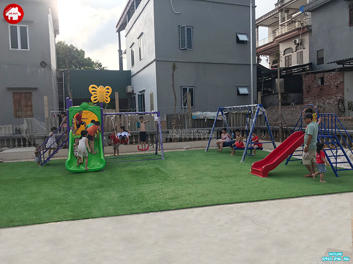 Tư vấn lắp đặt sân chơi ngoài trời nhà văn hóa Phường, Xã, Quận, Huyện