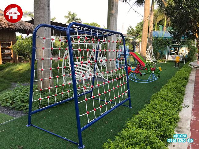 Tư vấn lắp đặt sân chơi ngoài trời cho quán café sân vườn và nhà hàng