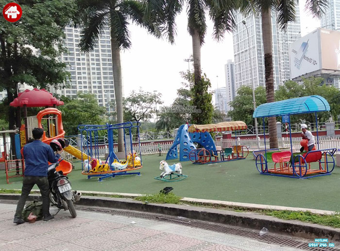 Tư vấn lắp đặt sân chơi ngoài trời cho siêu thị và trung tâm thương mại
