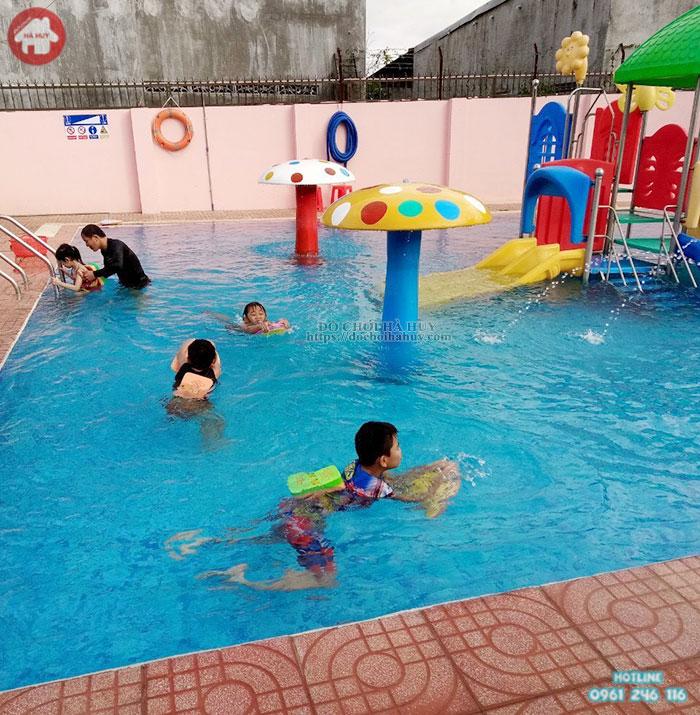 Cây nấm hồ bơi đại cho khu vui chơi nước HB12-022