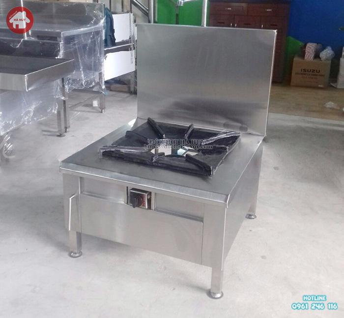 Bếp ga đơn công nghiệp Inox giá rẻ, bền đẹp, chất lượng cao.