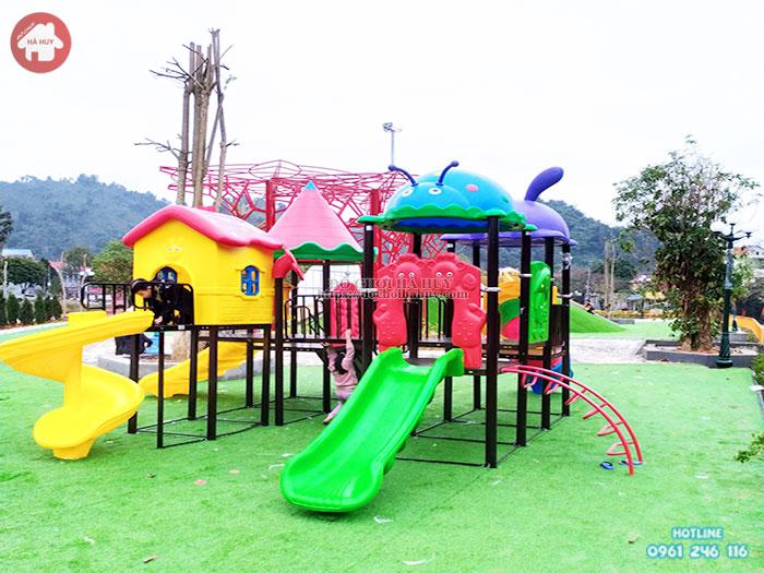 Cẩm nang lựa chọn cầu trượt liên hoàn ngoài trời cho sân chơi trẻ em
