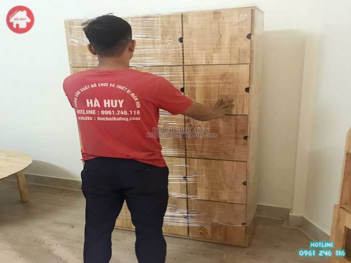 Lắp đặt nội thất và đồ chơi trong nhà cho trường mầm non ở Bắc Ninh