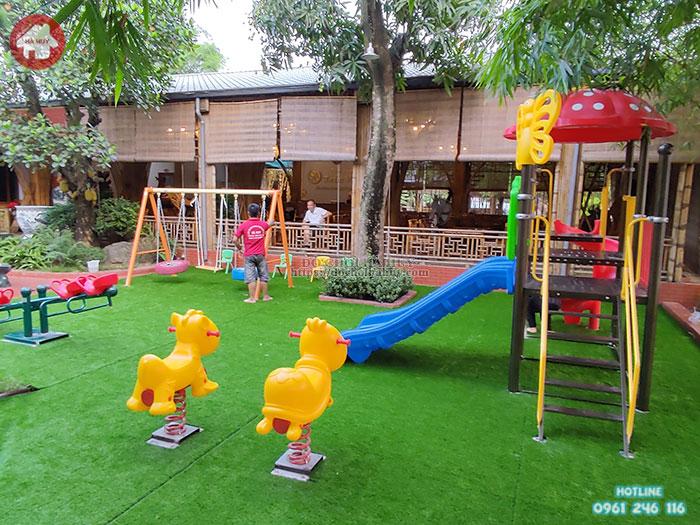 Liệt kê những địa điểm xu thế cần chú trọng đầu tư sân chơi trẻ em ngoài trời