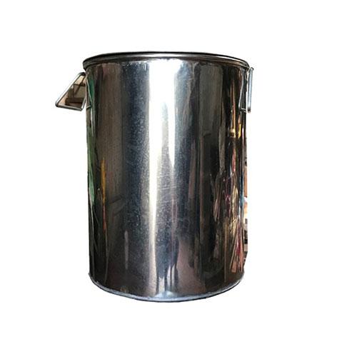 Thùng đựng gạo Inox kiểu tròn HD3- 026