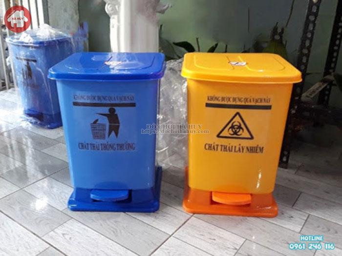 Thùng rác nhựa Sài Gòn HPDE 10-30lít HD4- 012
