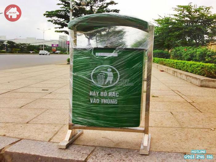 Thùng rác treo đơn- đôi HD4- 023