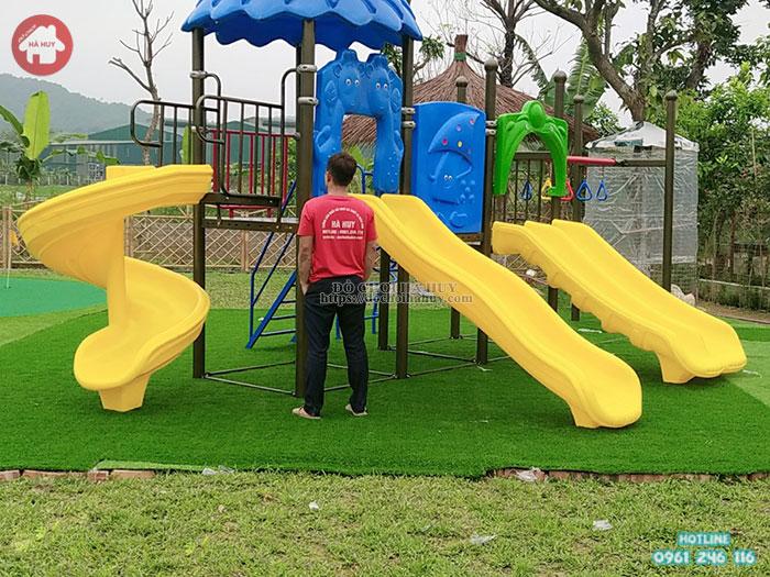 Lắp đặt bộ nhà khối liên hoàn tại Homestay tại Lai Châu